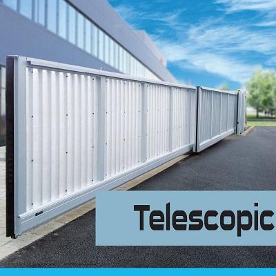 Poartă telescopică industrială BALU